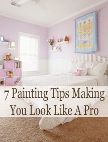 7 Painting tips making you look like a pro