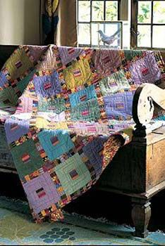 lovely colored quilt