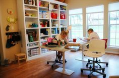 homeschool room ideas | active room in the house.