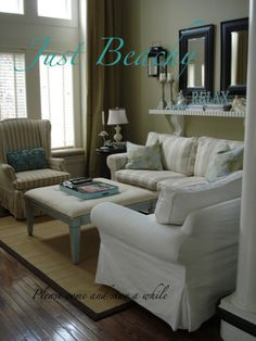 Just Beachy , Living Rooms Design