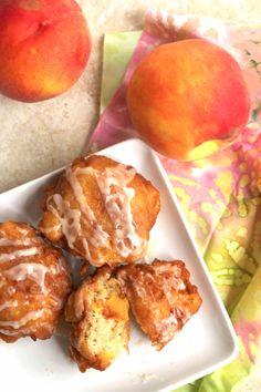 Peach Fritters - Grandbaby Cakes