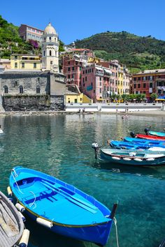 Vernazza, Italy - On