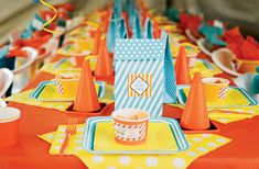 Construction theme birthday party odeas  Hostess with the Mostess® Daily Blog
