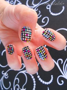 #Nail #nailart #DIYnail #DIY #mondriannail #mondrian #fingernails #pretty #fashion #itsmestyle #koreanstyle #asianfashion #koreanfashion