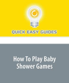 How To Play Baby Shower Games « LibraryUserGroup.com – The Library of Library User Group