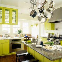 Coloured Kitchen