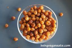toasty oven chickpeas snack