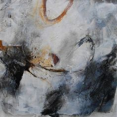 title unknown ~ acrylic and mixed media ~ by sandrine merrien