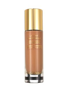 Base 2012: Best of Beauty: Best of Beauty: allure.com FOUNDATION  MEDIUM TO FULL COVERAGE  Much like the cult concealer that inspired it, Yves Saint Laurent Le Teint Touche Éclat covers with just a few drops. And its lightweight gel base leaves skin radiant, not slick.