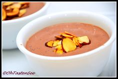 Silken Tofu Chocolate Pudding(Low Carb/Gluten Free/Sugar free/Vegan)