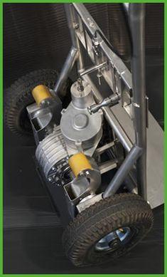Il dettaglio della trasmissione del carrello #saliscale #StepUp