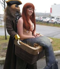 Kidnapped Mermaid Costume !