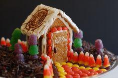 make a Halloween candy house Nobiggie.net