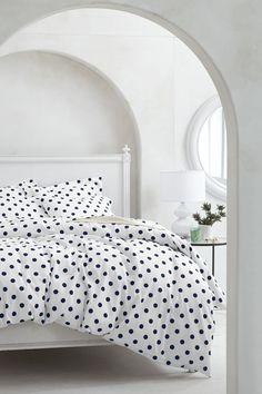 Spotty sheets.