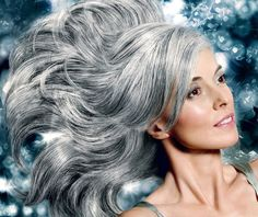 I decided that whenever I become old an grey, I will not cut my hair short!