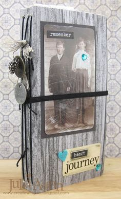 Create With Me: A Junk Journal - New Journal Sizzix Die by Eileen Hull!