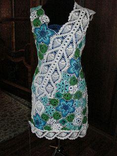 Freeform Crochet ~Dress from Hope Zavorin