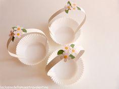 Flower baskets by La classe della maestra Valentina: BALLERINE PARTY