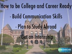 How to be College and Career Ready?