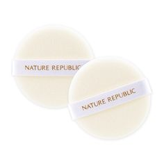 Nature's Republic Nature's Deco Soft-Touch Flocked Puff (2 Pieces)