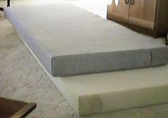 Make a bed cushion
