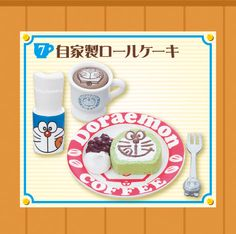 Re-Ment Miniatures - Doraemon Welcome To Café #7