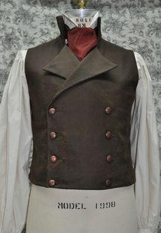 Victorian Steampunk Vest. #fashion