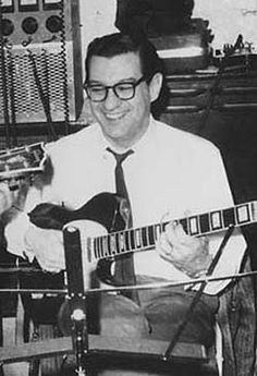 """Joe Messina..one of Motown's house musicians labeled the """"Funk Brothers"""""""