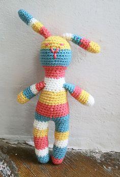 Ravelry: Crochet Bunny pattern by Ruth Maddock.