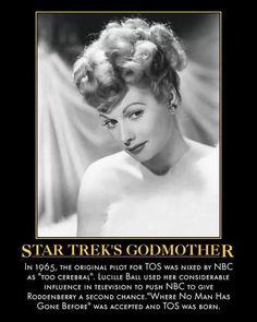 Star Trek's godmother