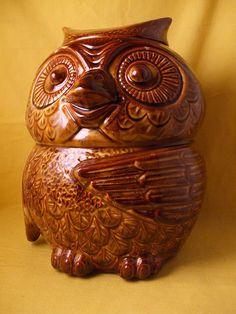McCoy Pottery USA Owl Cookie Jar
