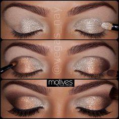 Pretty wedding makeup ♥