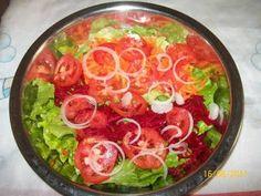 Receita de Salada simples - Tudo Gostoso