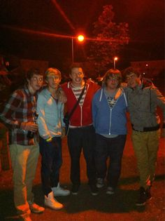 Niall and some friends.