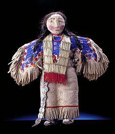 Dakota/Lakota Doll. c 1900