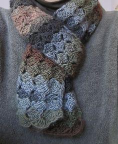 autumn petals scarf