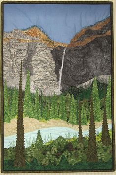 Yoho National Park Landscapes 2.  Peace, Robert from nancysfabrics.com