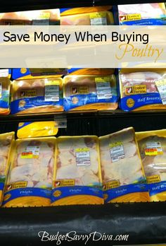 Shopping Tip: Save Money When Buying Poultry