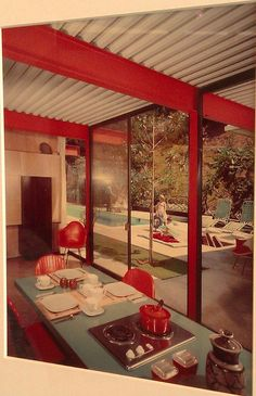 "A vintage California design sensibility: ""California Design, 1930–1965: 'Living in a Modern Way' at LACMA"" #style #decor #interiors"