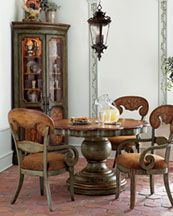 "horchow.com""HERITAGE"" DINING FURNITURE  370.00-1599.00"