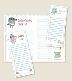Free Printable Spring To-Do Lists