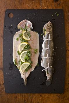 // Grilled Whole Trout
