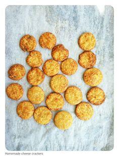 GF Homemade Cheese Crackers