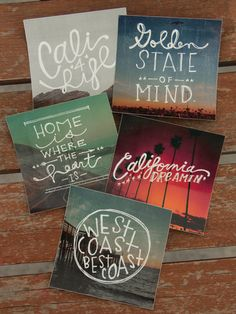 California Sticker Pack