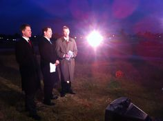 Matt Laubhan, Craig Ford and Terry Smith reporting live from Smithville six months after the deadly tornado.