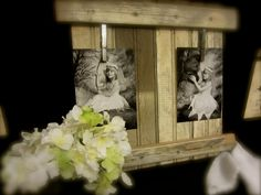 Rustic Beadboard Frame Memo Board Recipe Holder.