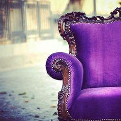 ~Fun Purple Couch!