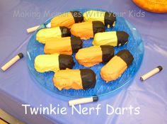 Twinkie Nerf Darts - Making Memories With Your Kids