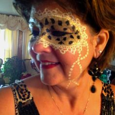 Leopard mask - Face Painting