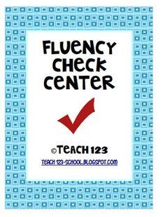 fluency freebie